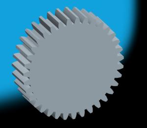 Эвольвентное зубчатое колесо в Pro/ENGINEER