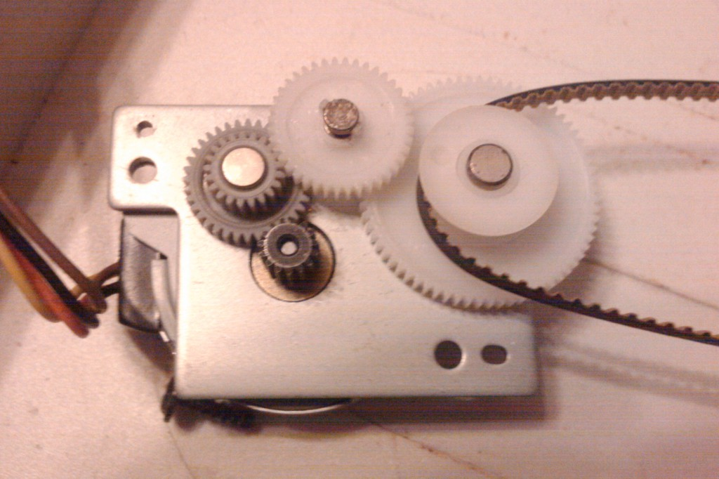 Редуктор привода сканирующей каретки